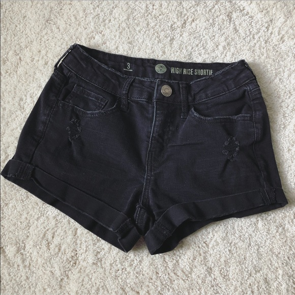 SO Pants - High Rise Shortie Shorts